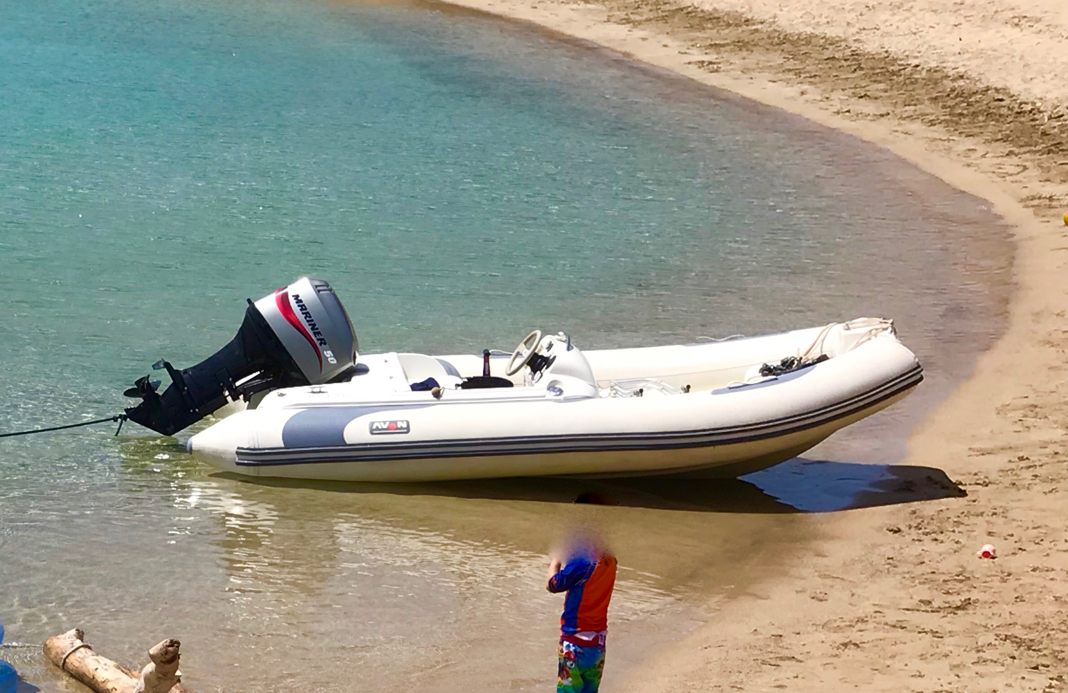For sale: Avon Seasport 400 Deluxe Rib/trailer package with cover- 4m long,  carries 5x people, 50hp, great for towing all types of  water sports