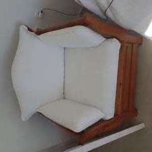 For sale: 2 seat sofa bed and 1 seat sofa bed armchair
